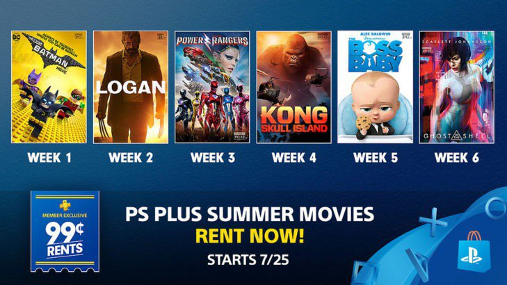 PlayStation Free Plus Games for August 2017 Revealed