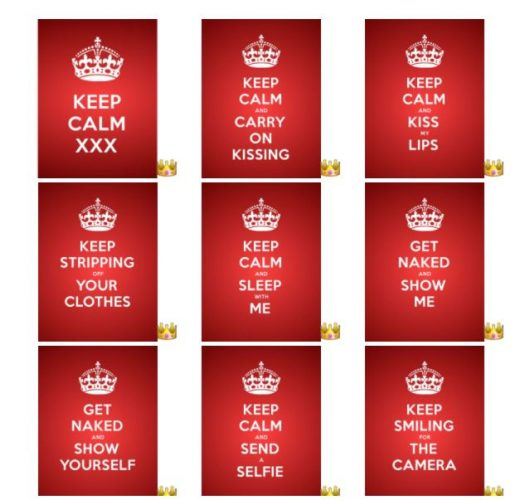 Keep Calm for Adults